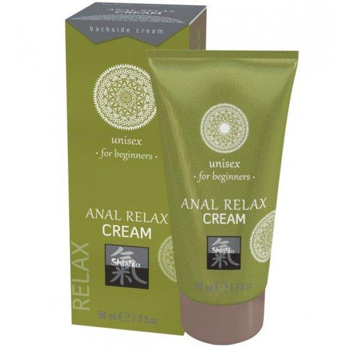Анальный крем на масляной основе Anal Relax Cream unisex for beginners - 50 мл
