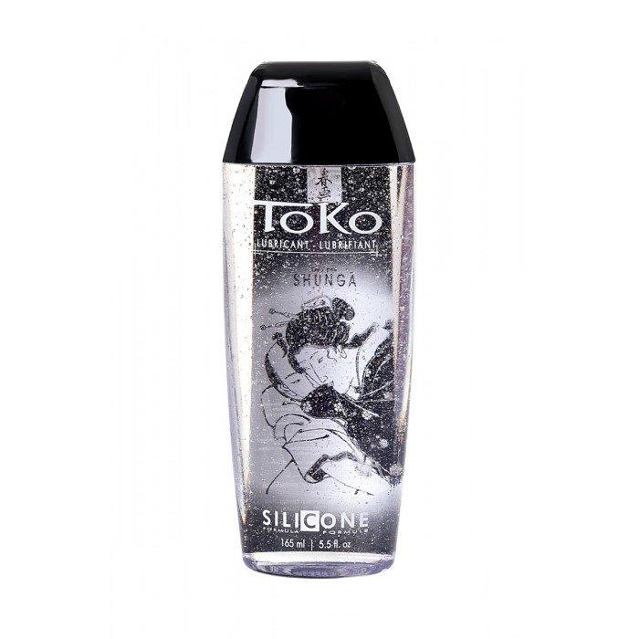 Интимная смазка-лубрикант Toko Silicone на силиконовой основе - 165 мл