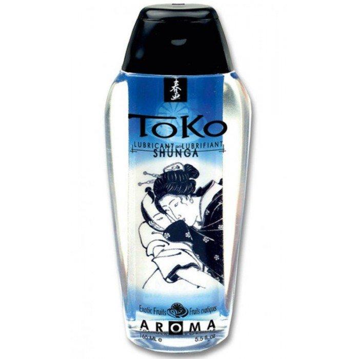 Смазка на водной основе Toko Aroma - Exotic Fruits вкус Фрукты - 165 мл