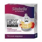 Презерватив-стимулирующая насадка Sitabella Extender - Ночная Коррида