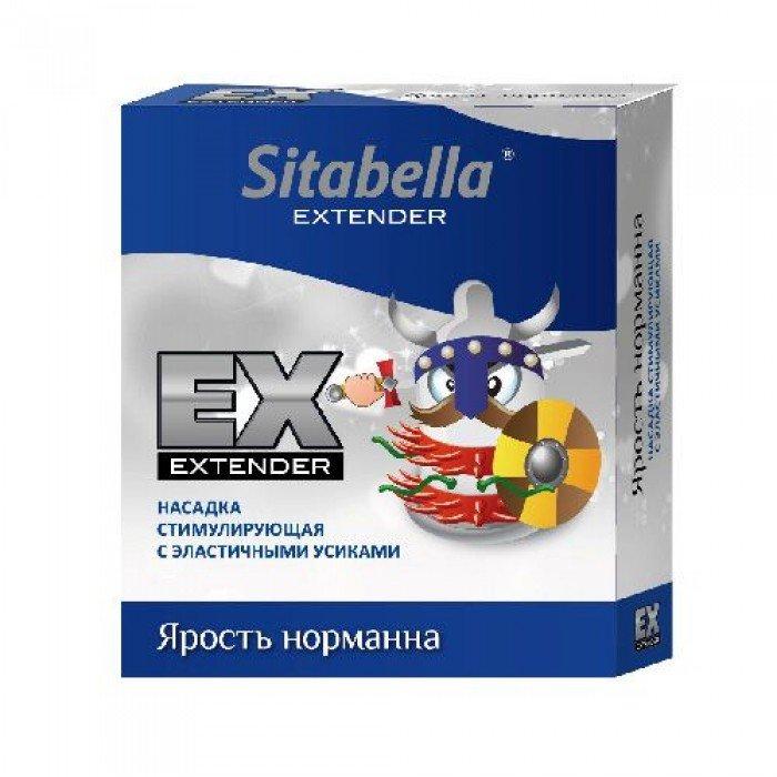 Презерватив-стимулирующая насадка Sitabella Extender - Ярость норманна