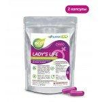 Возбуждающее средство для женщин с L-аргинином и Q10 Lady's Life - 2 капсулы