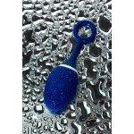 Анальная вибровтулка O'Play Wave с пультом управления - синяя - 15,5 см