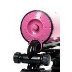 Секс-машина Pink-Punk MotorLovers с функцией нагрева и пультом - розовая