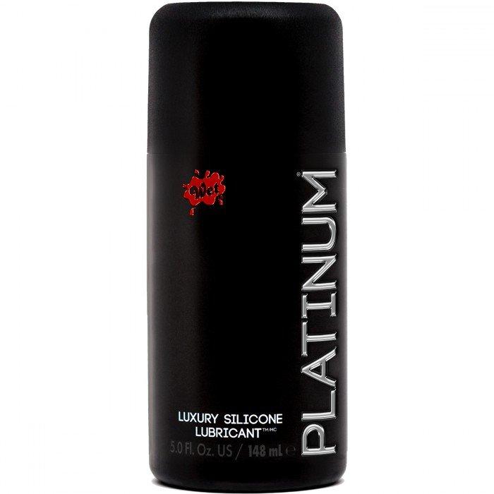 Гель-смазка на силиконовой основе Wet Platinum Luxury Silicone - 148 мл