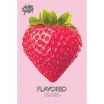 Смазка со вкусом клубники WET - Flavored - Sexy Strawberry - 30 мл