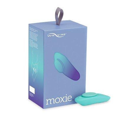 Стимуляции клитора с магнитным креплением для трусиков Moxie We-Vibe и управлением со смартфона